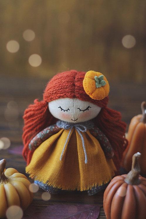 Happylabtoys - Mini Pumpkin Doll