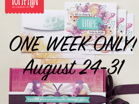 Bonus Week for the Hope Box