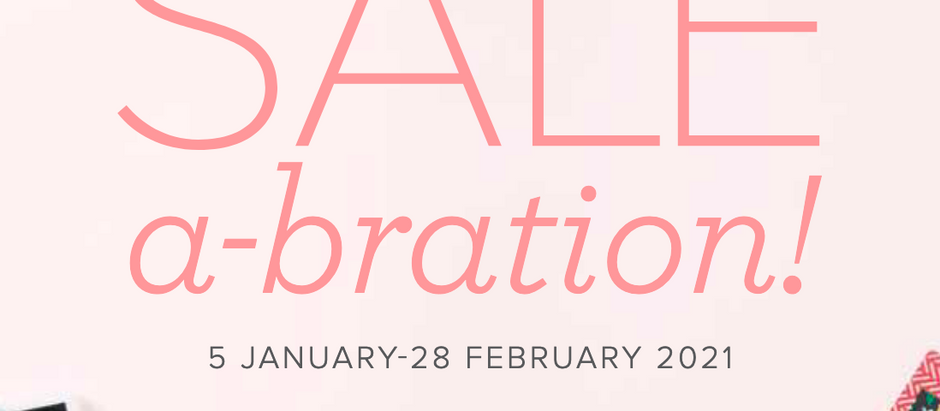 Two More Weeks to Sale-a-brate!