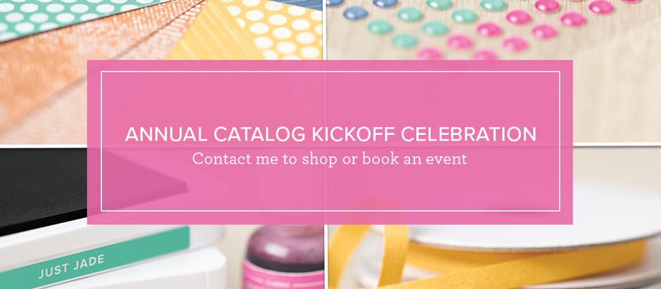 Celebrate the New Catalog!