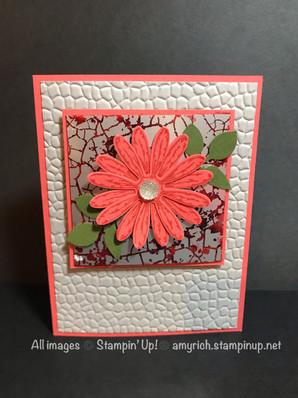 Mercury glass & tissue paper