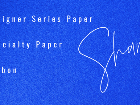 DSP, Specialty Papers, and Ribbon Shares: JD21 Mini Catalog