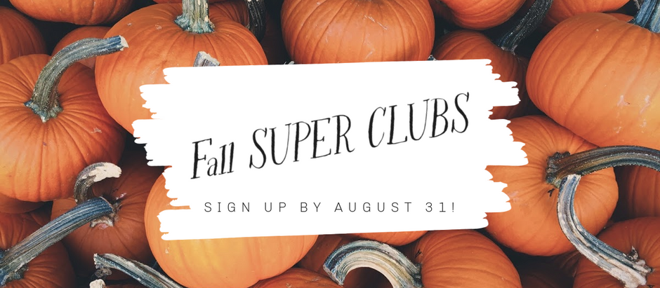 Special Fall Opportunity