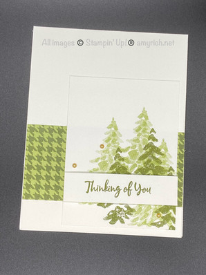 In the Pines Thinking of You card
