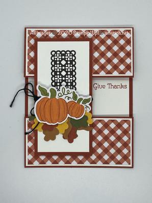 September '20 Paper Pumpkin alternate project