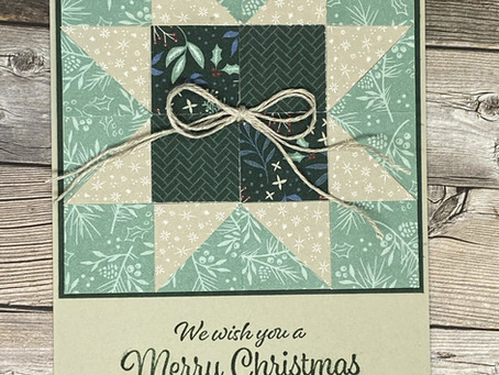 Stamp Together Saturday Gets Quilted