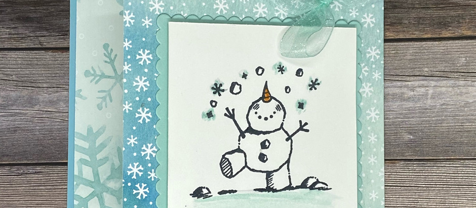 Retiring List and Close-out! (And a sweet snowman card)