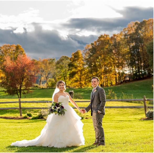 Fall Wedding at Barn