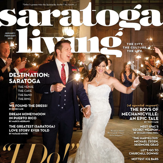 Pellegrini Events couple on the cover