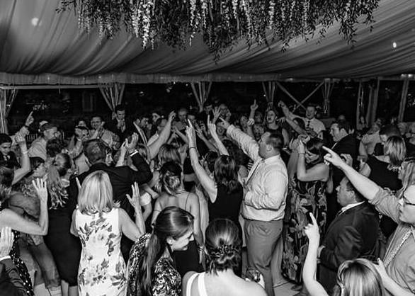 Wedding Band - Dance floor goals.