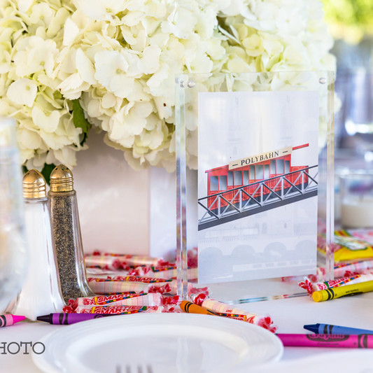 Kids Table Wedding