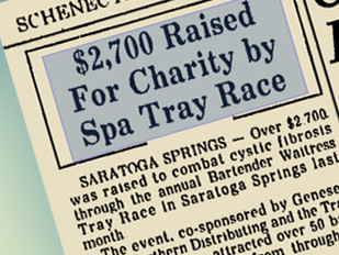 Bring back the Great Bartender/Waitress Tray Races!!