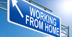 Work-From-Home - traffic sign