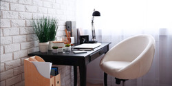 work-from-home-small office corner