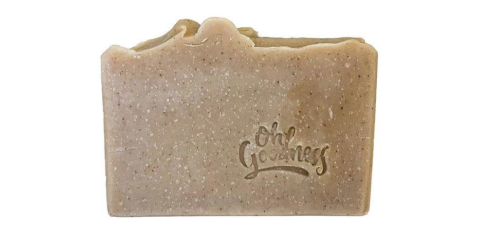 Oh Goodness: coffee scrub soap