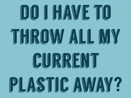 top concerns for plastic-free newbies