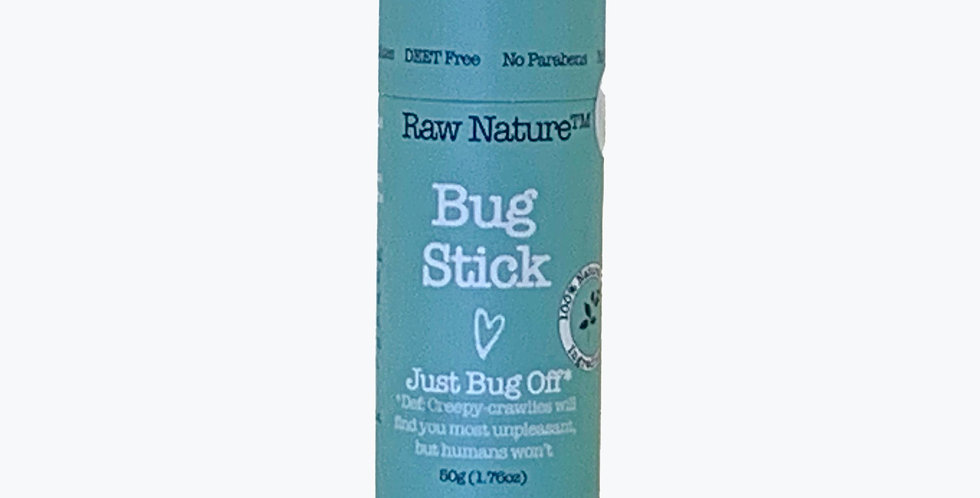 bug stick: raw nature