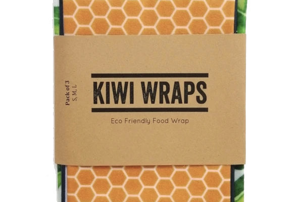 pack of 3 beeswax wraps