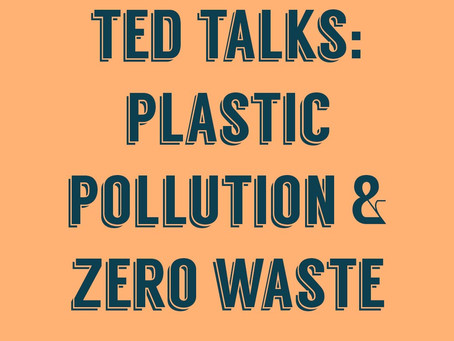 the best TED talks on plastic pollution and zero waste
