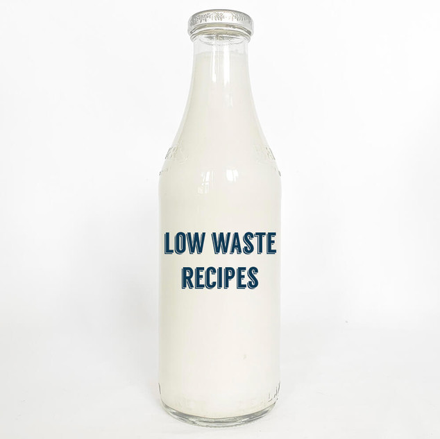 B & and Sea Low Waste Recipes