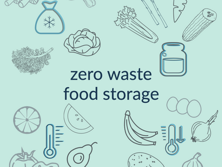How to properly store these 17 fruit and vegetables for zero waste.