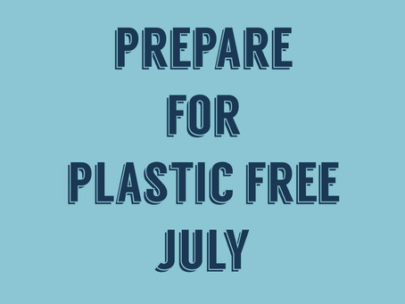 Plastic Free July – take the challenge!