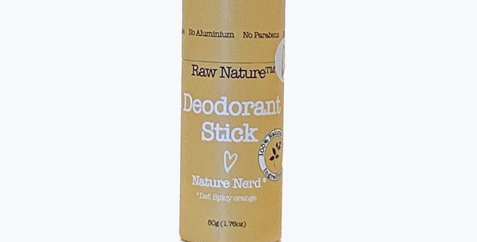 Raw Nature: nature nerd natural deodorant
