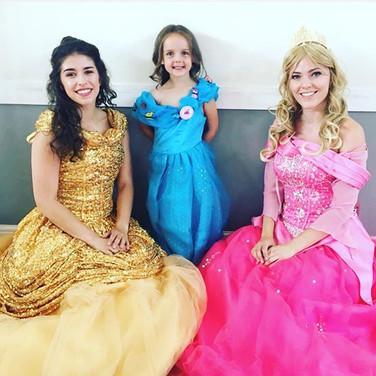 Double the fun at Princess Delilah's par