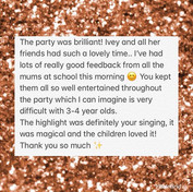 Have a look at this amazing feedback fro