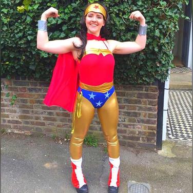 Wow! Look at our wonderful Wonderwoman!