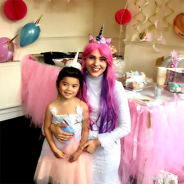 Happy Birthday Chloe! Princess Unicorn h
