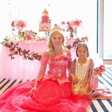 What an amazing party for Princess Olivi