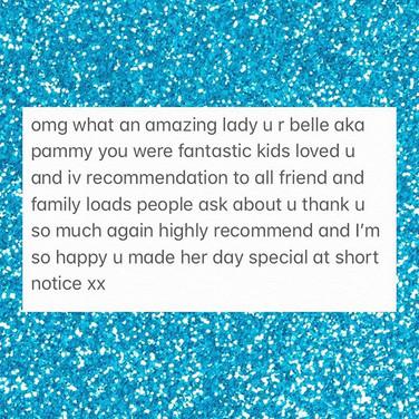 What fantastic feedback we have this wee