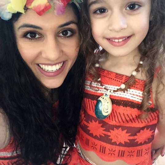 A HAPPY BIRTHDAY to my little mini Moana