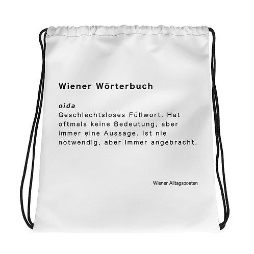 Sporttasche_Wiener Wörterbuch: oida