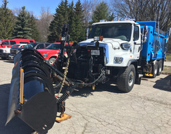 Oxford County CNG Snow Plow