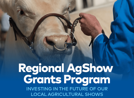 AgShows Grant Applications Now Open