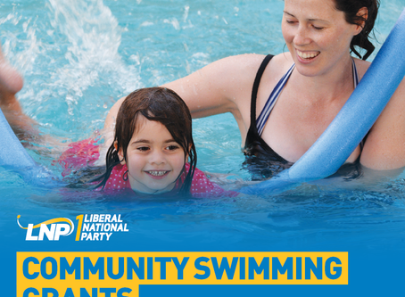 New grants available for swimming programs in Capricornia