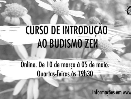 Curso de Introdução ao Budismo Zen - 1ª Turma de 2021