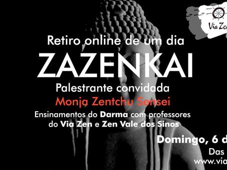Zazenkai de Junho, 2021 - Retiro zen budista de um dia