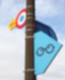 Les logos de lampadaires