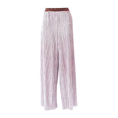 Pink flowy pants