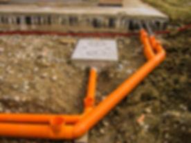 монтаж внешние сети канализации и водосн