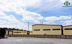 Складской центр по ул. Индустриальная 59. Проектирование, строительство, наем не