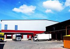 Строительство склада из сэндвич-панелей в Кишиневе.