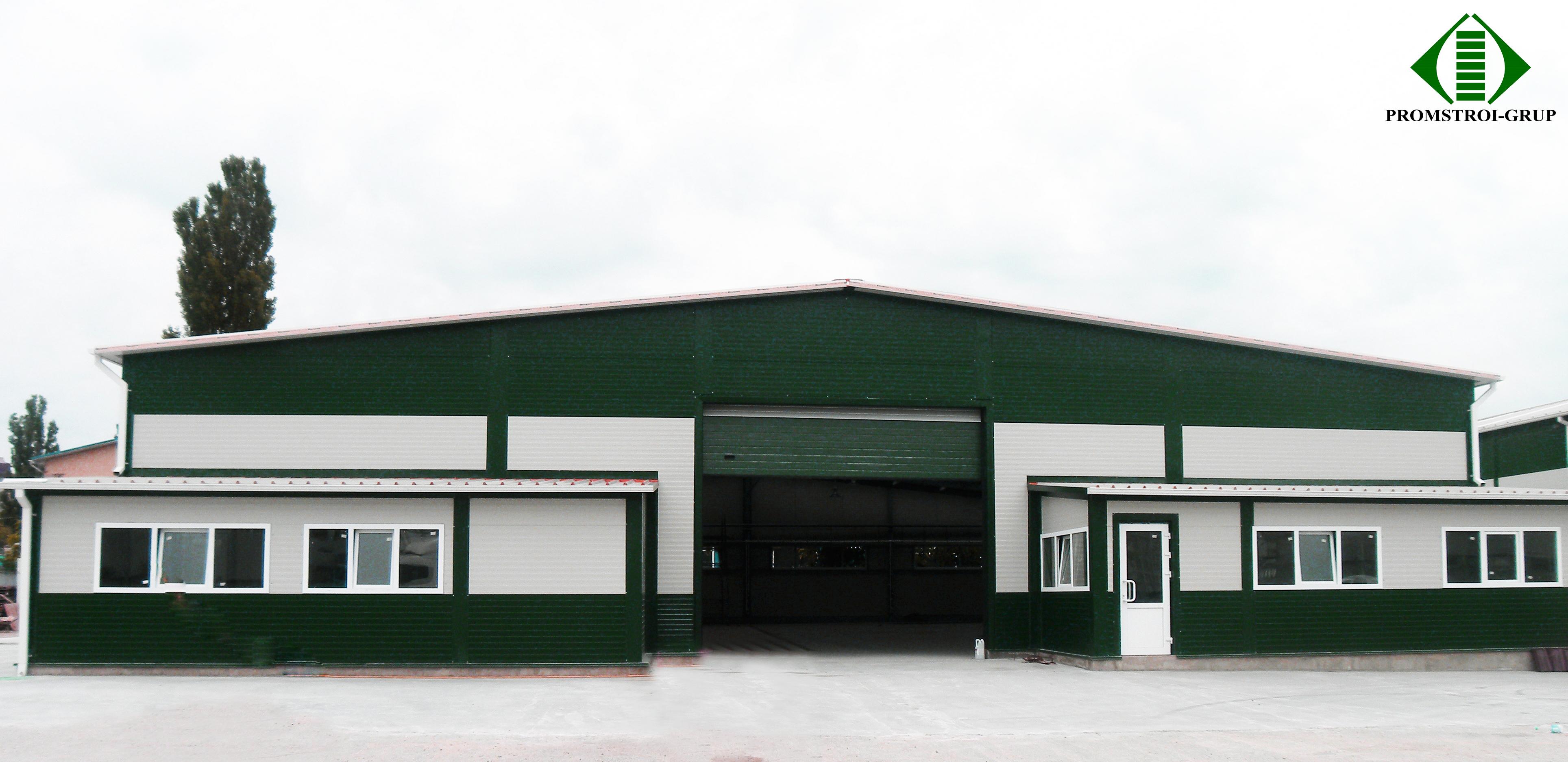 Второй склад компании Politrans по ул. Узинелор, Кишинев Проект и строительно-мо