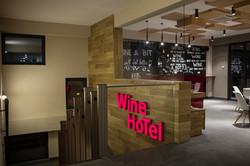 Entrance in Wine Hotel Chisinau