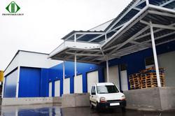 Сухой склад компании Skynet, Кишинев, ул. Транснистрия, 6. Генеральный проектиро