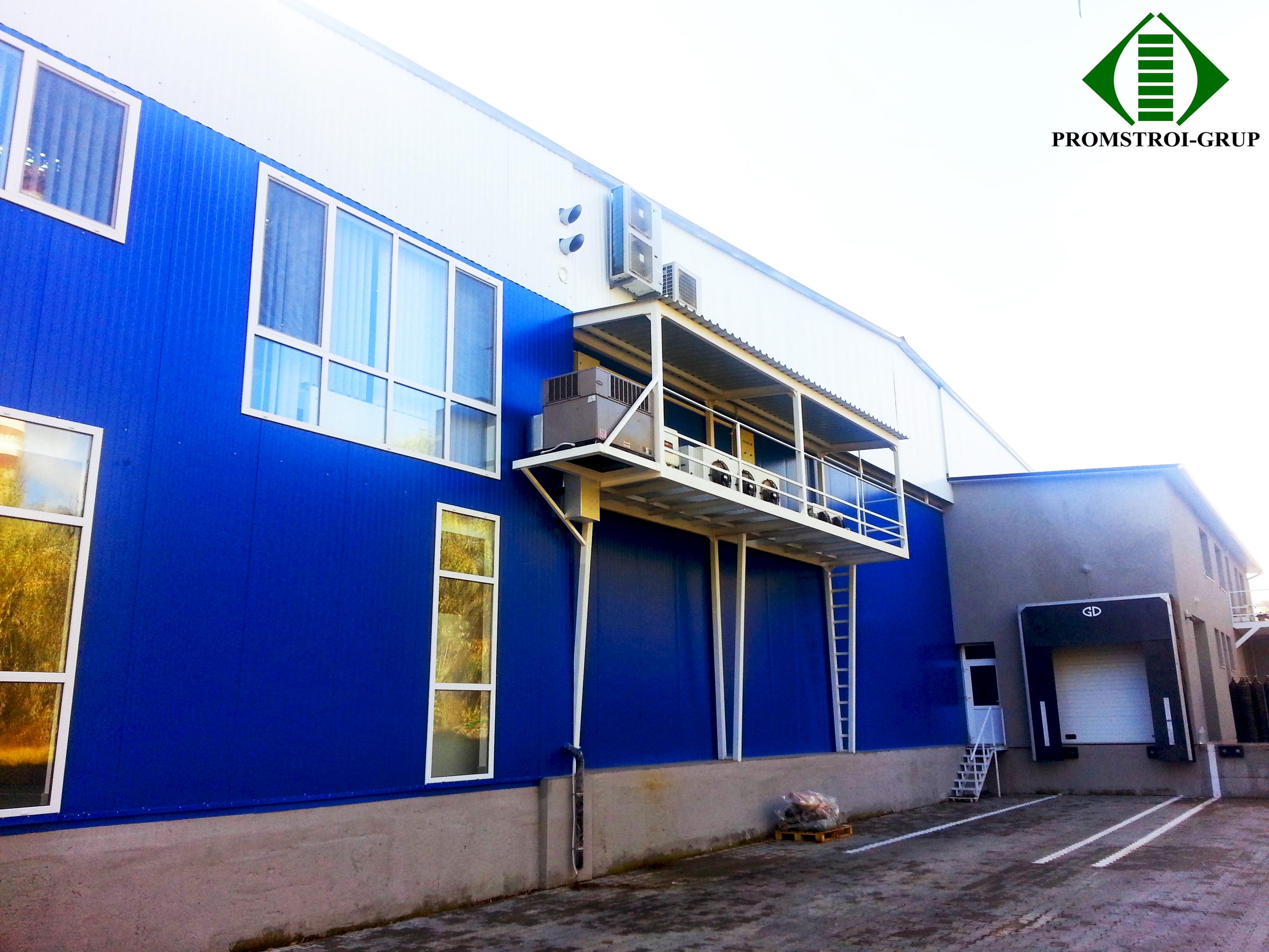 Морозильный склад, холодильники компании Skynet, Кишинев, ул. Транснистрия, 6. Г