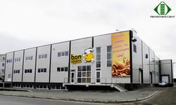 Фабрика Bon appetit, Кишинев, ул. Волунтарилор. Проектирование и строительство з